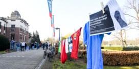 Protestactie tegen nieuw contract schoonmakers UAntwerpen