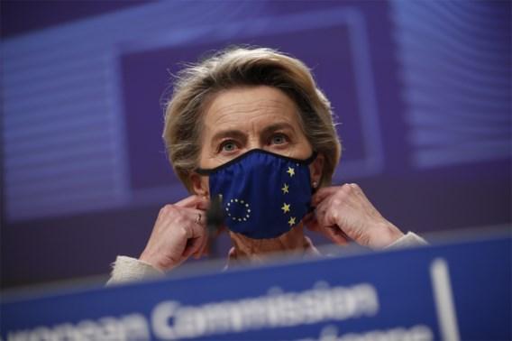 Von der Leyen: 'Exportverbod blijft zolang AstraZeneca niet levert'