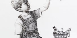 Banksy veilt werk voor NHS