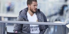 Eden Hazard traint weer bij Real Madrid en maakt mogelijk zaterdag al minuten