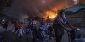 Vijf jaar cel voor brandstichters van kamp Moria