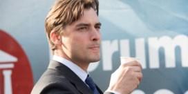 Nederlandse politicus Baudet loopt weg tijdens uitzending