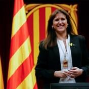 Partijgenote van Puigdemont nieuwe voorzitter Catalaans parlement