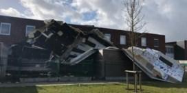 Storm veroorzaakt ravage in Torhout: daken van vijf woningen weggeblazen