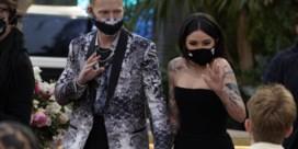 Mondmasker-madness op de Grammy's