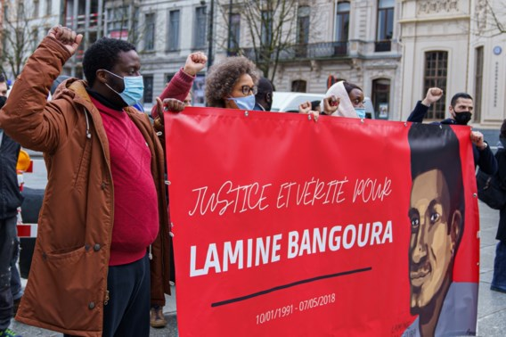 'Lamine Bangoura is George Floyd niet'