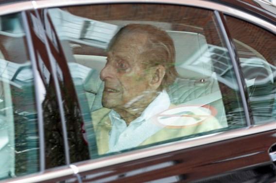 Britse prins Philip heeft ziekenhuis verlaten