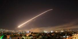Syrische luchtafweer onderschept raketten boven Damascus