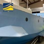 Spaanse politie neemt 'halfafzinkbaar schip' van drugsbende in beslag