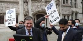 Britse Uber-chauffeurs zijn officieel 'workers'