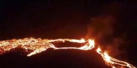 Vulkaanuitbarsting in IJsland, luchtverkeer stilgelegd