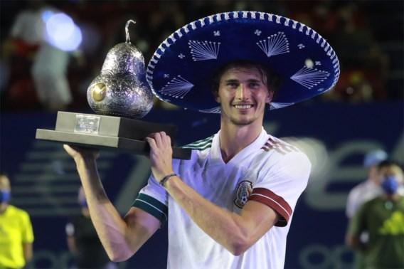 Zverev klopt Tsitsipas in finale ATP Acapulco en verovert zijn veertiende titel