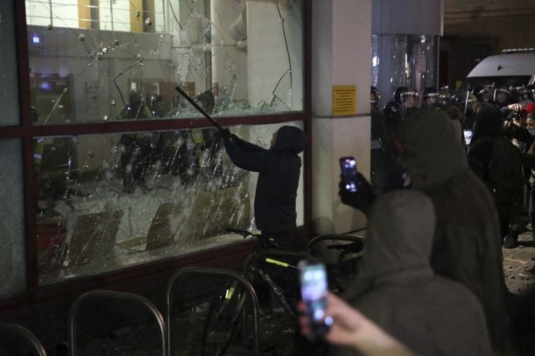 Rellen tijdens manifestatie tegen uitbreiding bevoegdheden Britse politie in Bristol