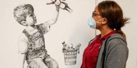 Recordopbrengst werk Banksy gaat naar zorgsector
