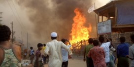 Zeker vijftien doden bij brand in Rohingya-kamp in Bangladesh