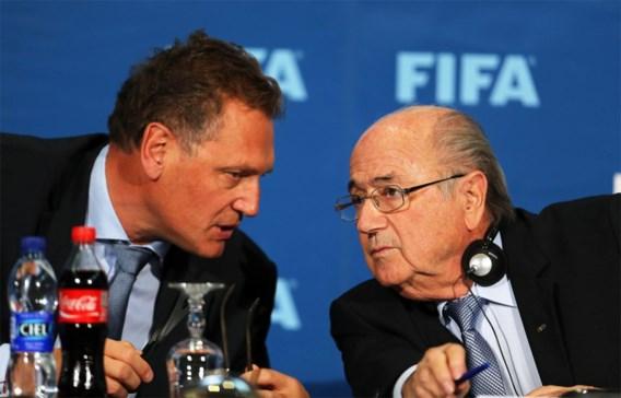 Fifa zet voormalige toplui Blatter en Valcke 6 jaar en 8 maanden langer aan de kant
