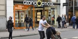 Brillenfusie merkbaar in Belgische winkelstraat