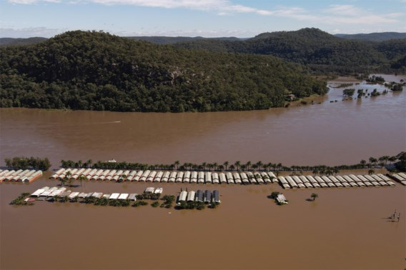 Overstromingen in Australische staat New South Wales: 20.000 geëvacueerden nog vast
