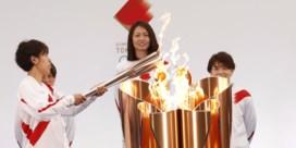 Olympische vlam vertrokken voor tocht door Japan