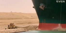 Gestrand containerschip inspireert talloze memes