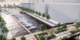 Watersportzone en moderne jachthaven in Hasseltse kanaalkom