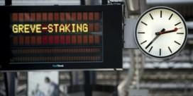Meer dan helft van de treinen rijdt tijdens staking