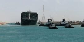 Blokkage in Suezkanaal voorbij: Ever Given is helemaal uit de weg