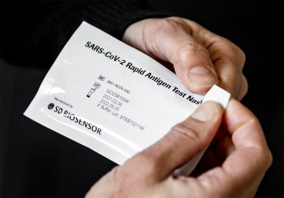 Vandenbroucke: 'Tot 1 mei gratis sneltesten voor bedrijven'