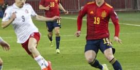 Spanje door oog van de naald tegen Georgië, Denemarken houdt schietoefening tegen Moldavië