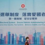 China keurt radicale hervorming kiessysteem in Hongkong goed