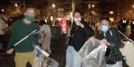 Studenten ruimen zelf afval op na alweer drukke avond op Ladeuzeplein