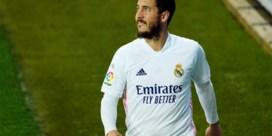 Eden Hazard traint opnieuw mee met de groep bij Real