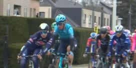 Drie renners uit de Ronde gezet na incident in begin van de koers