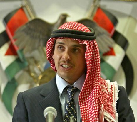 Jordaanse ex-kroonprins zegt dat hij onder huisarrest is geplaatst