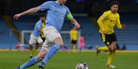 Kevin De Bruyne geeft Manchester City optie op halve finale tegen Dortmund