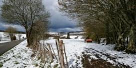 Nog sneeuw op komst, tegen de avond droog