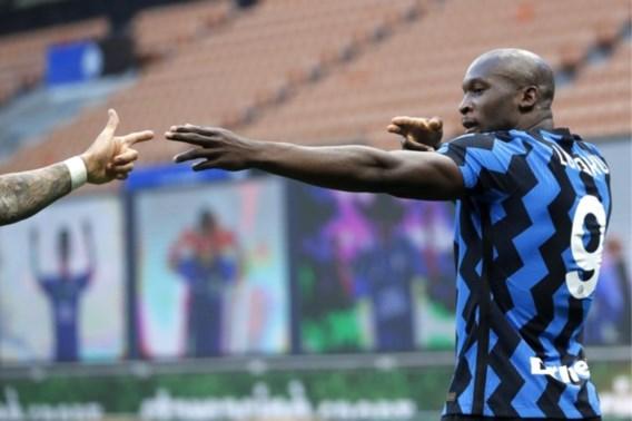 Lukaku brengt Inter weer stapje dichter bij titel in Italië
