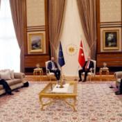 Michel deelt in de brokken na 'sofa-incident' bij Erdogan