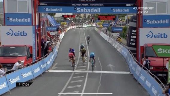 McNulty neemt leiderstrui over van Roglic in Ronde van het Baskenland