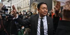 Myanmarese ambassadeur in Londen uit eigen ambassade gezet