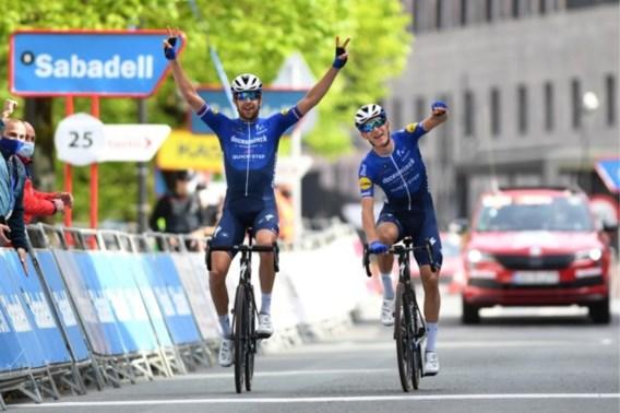 Machtsvertoon van Deceuninck-Quick-Step in Ronde van Baskenland