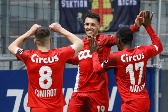Standard duikt top acht in na ruime 0-4-overwinning bij Eupen