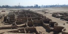Deel van verloren Egyptische hoofdstad bij Luxor teruggevonden