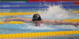 Louis Croenen stelt zijn Belgisch record op de 100 meter vlinderslag scherper