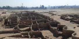 Archeologen vinden verloren stad in Luxor