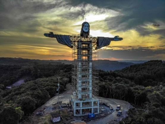 Brazilië krijgt nieuw Christusstandbeeld, groter dan dat van Rio