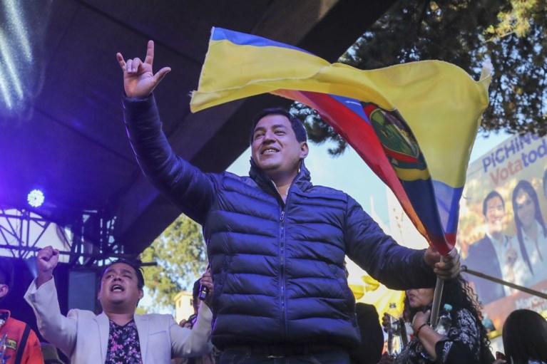 Eleições presidenciais equatorianas: o partido conservador Laso vence, com o adversário já vencendo