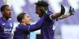 Anderlecht gaat door op jeugdig elan