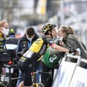 Van Aert na tweede plek in Brabantse Pijl: 'Pidcock was gewoon sterker, dat had ik al gevoeld'