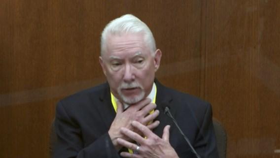 Proces George Floyd: expert zegt dat agent Chauvin gepast geweld gebruikte